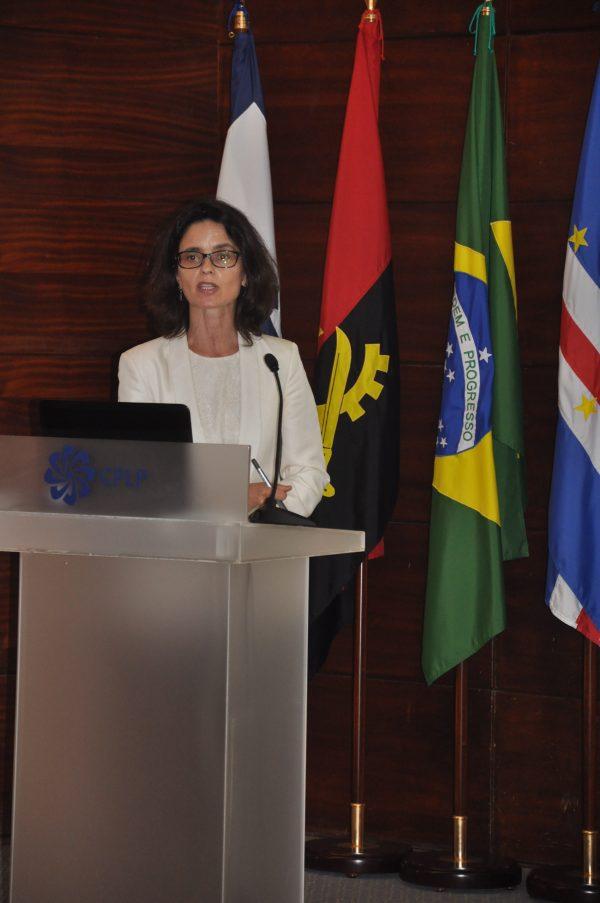 Dra. Teresa Amador, Coordenadora Regional da Base de Dados Jurídica Legis-PALOP + TL