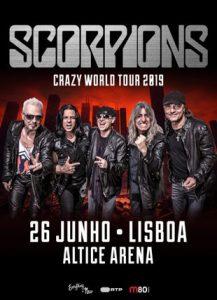 Concerto Scorpions @ Altice Arena
