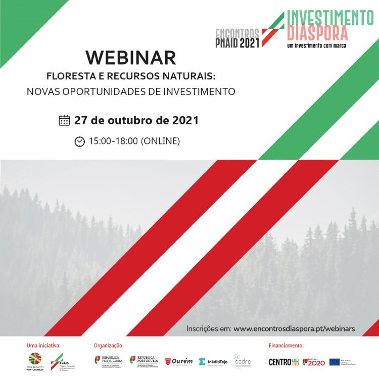 Webinar PNAIB sobre investimento no setor florestal e recursos naturais